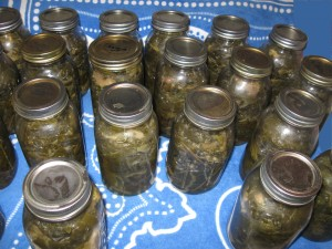 home canning for canning collards
