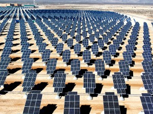 Picture of Giant Solar Technology array