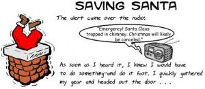 Saving Santa header for Creative Writing
