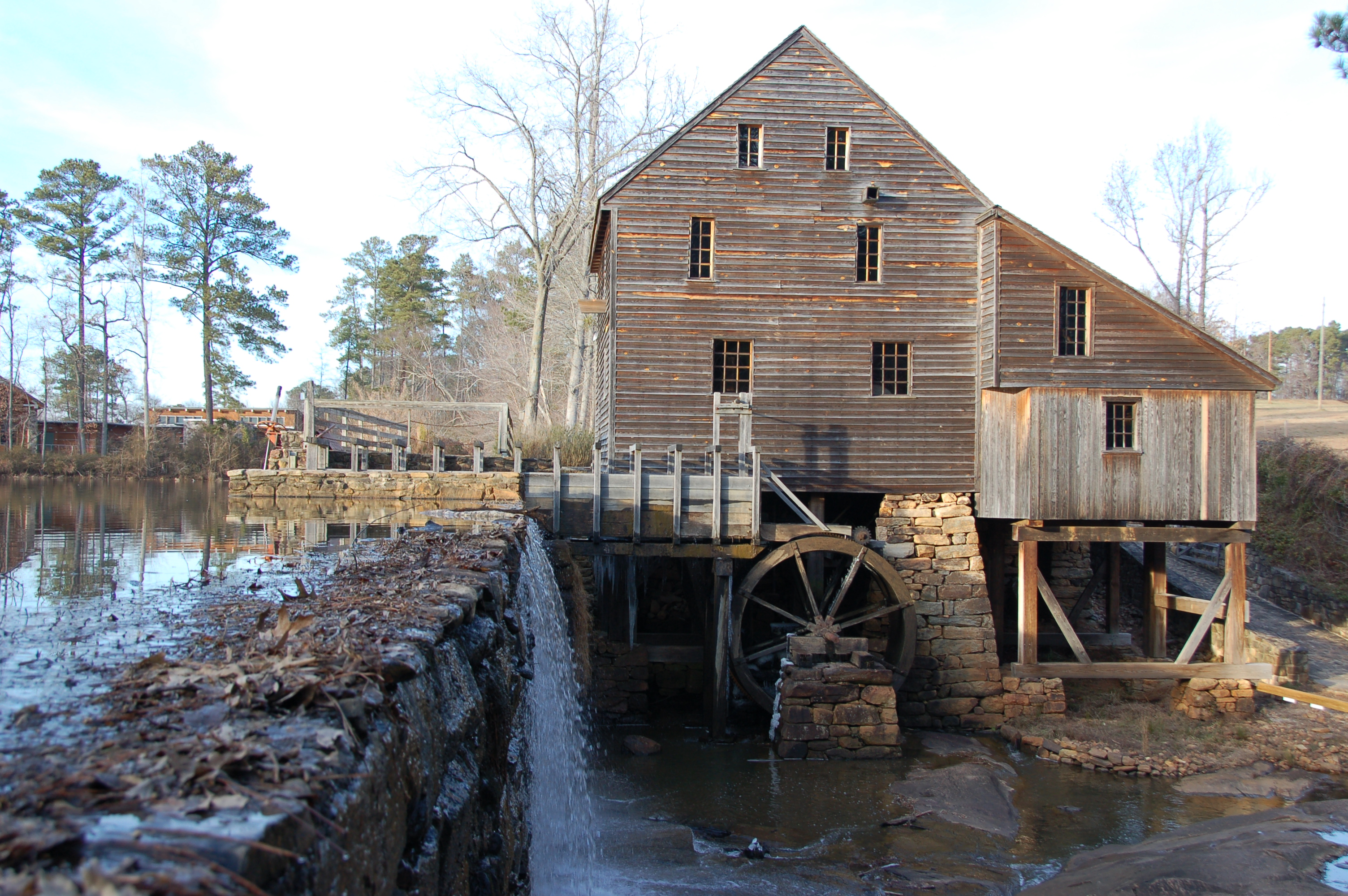 At Home Design Quarter Do You Know How To Build A Grist Mill Like Our Forefathers