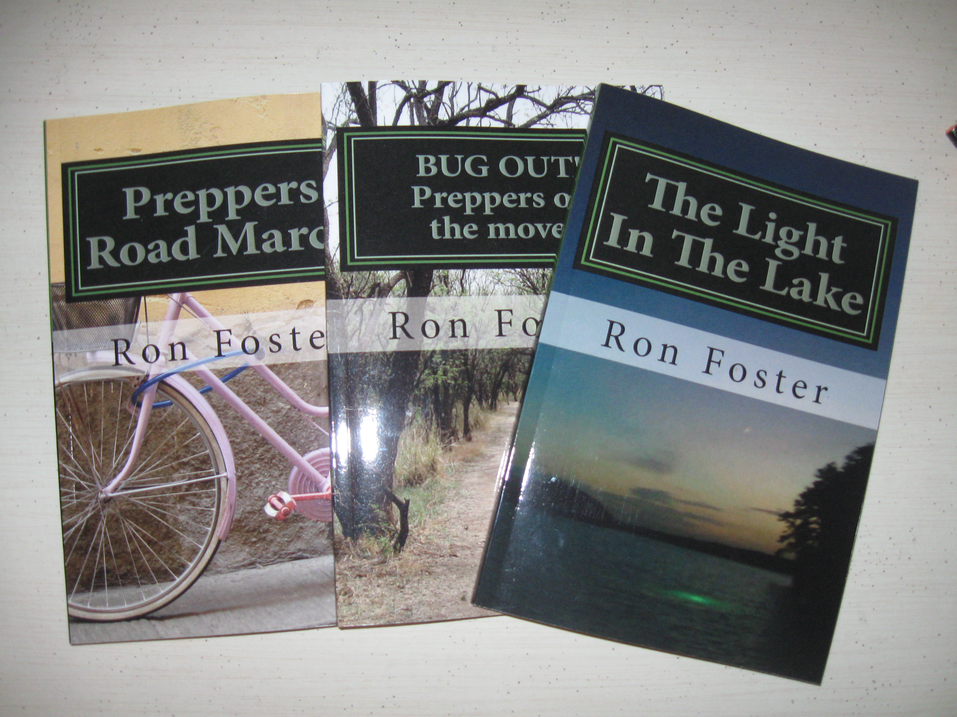 the Light in the Lake Preppers Trilogy by Ron Foster