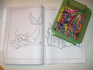 bug out bag coloring book