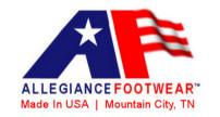 Allegiance Footwear Logo