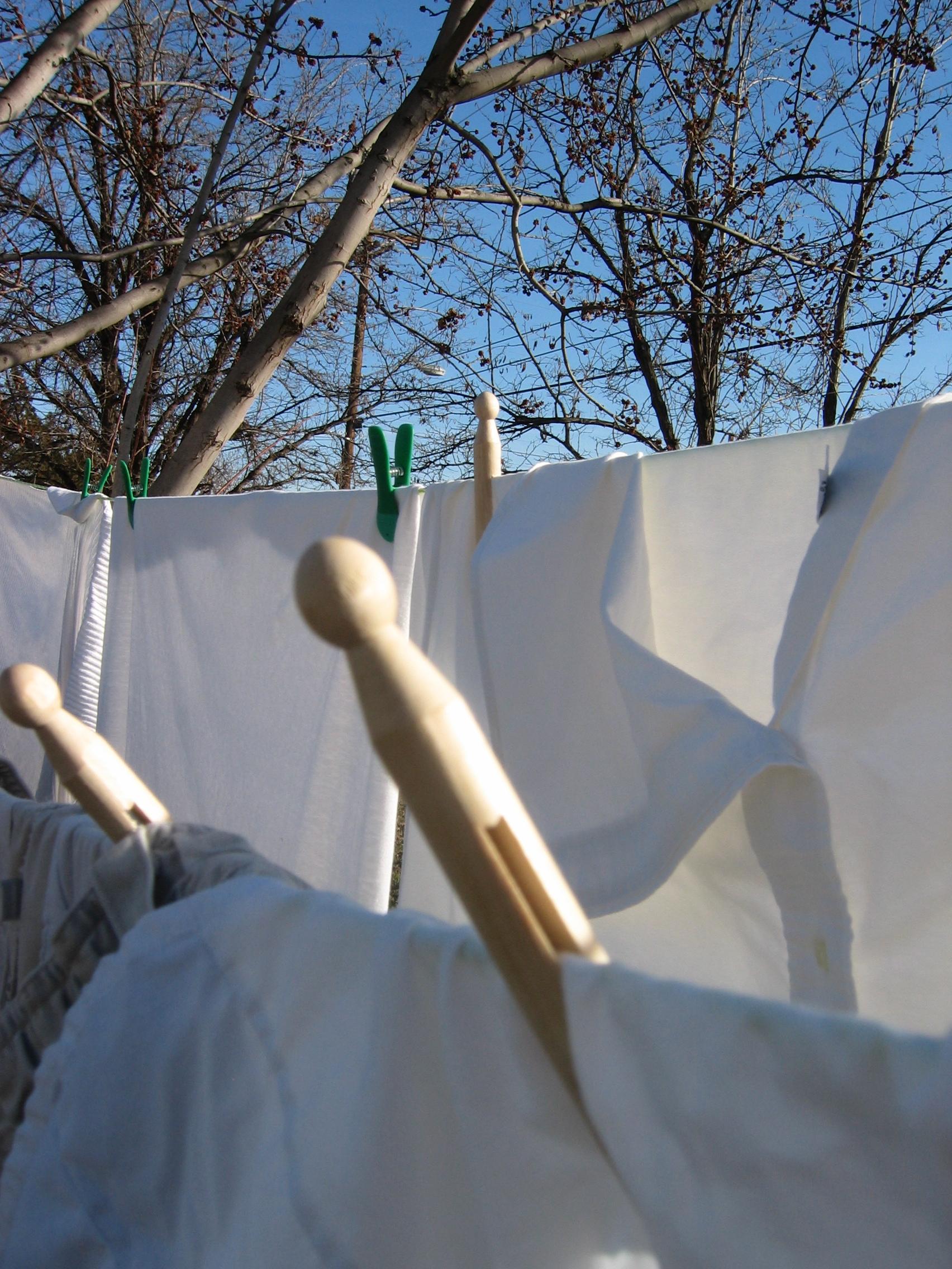 Awesome Backyard Clothesline