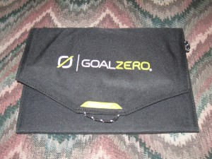 Goal Zero Guide 10 portable solar kit