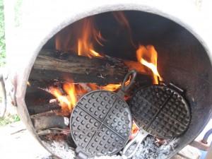seasoning cast iron prep