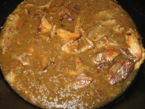 Lapin a La Cocotte aka Rabbit stew