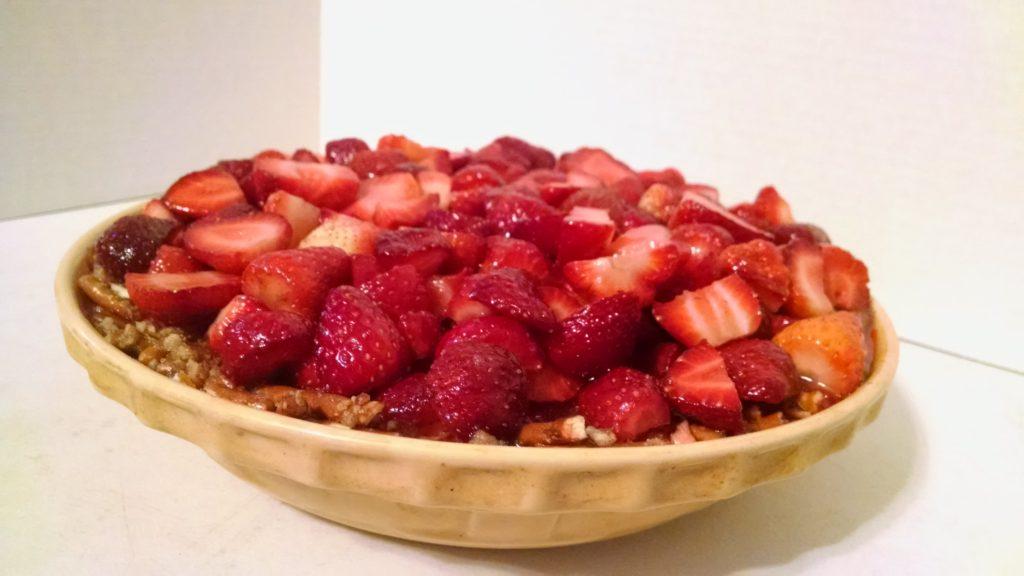 Picture of Strawberry Pretzel Pie
