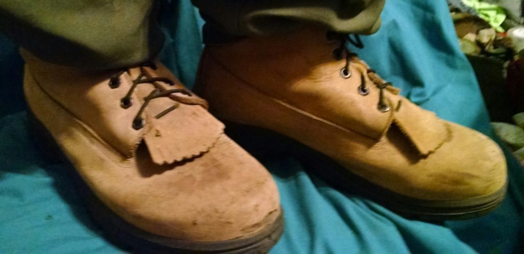 Picture of Allegiance Boots Made in USA in natural leather